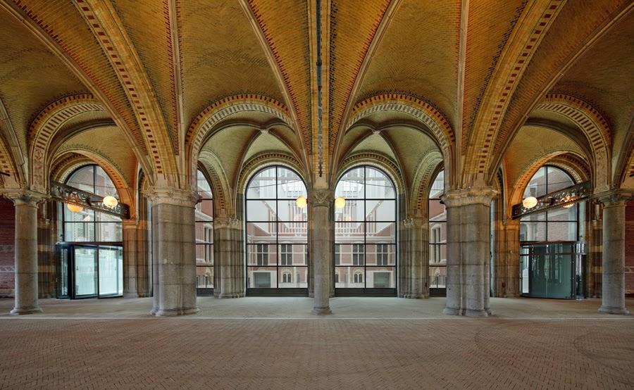 Interior do Museu Rijksmuseum em Holanda