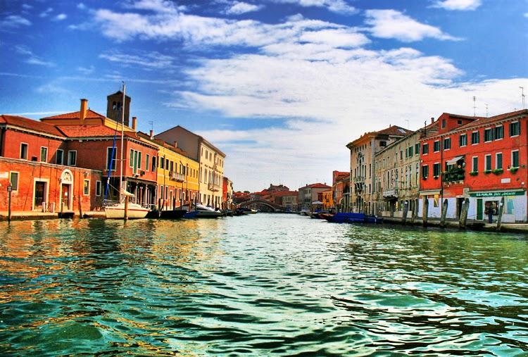 Ilha Murano em Veneza na Itália