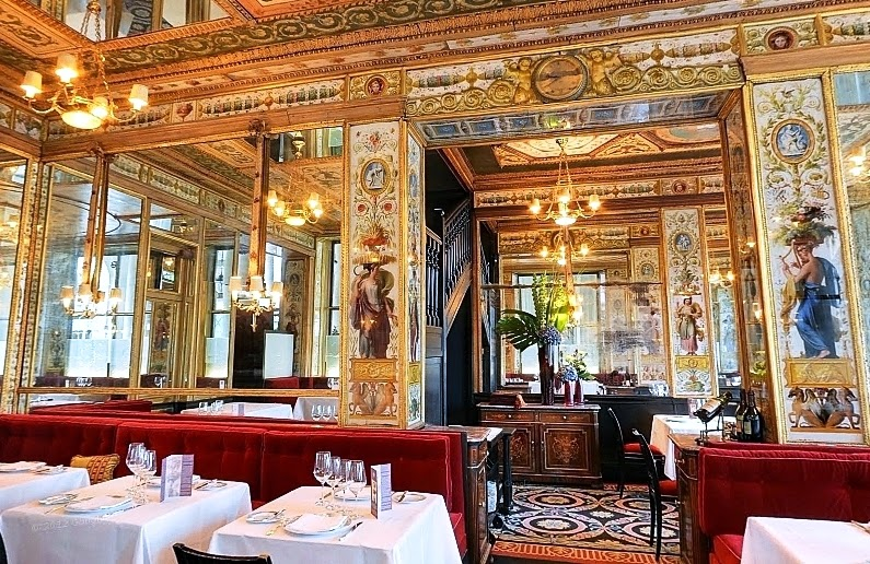 Restaurante Le grand véfour em Paris
