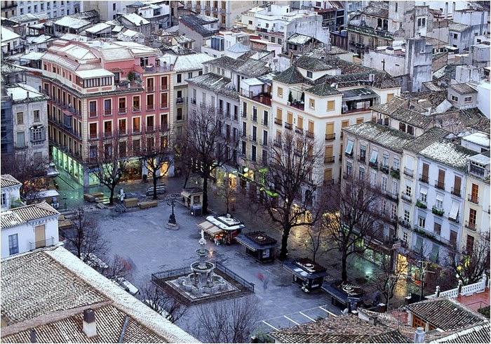 Praça Bib Rambla em Granada