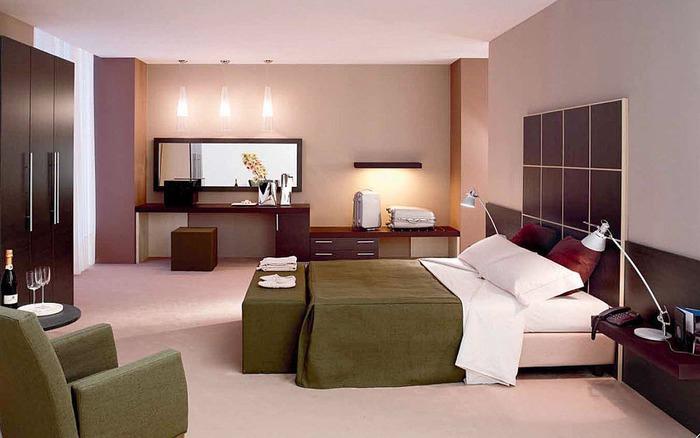 Quarto de hotel na Europa