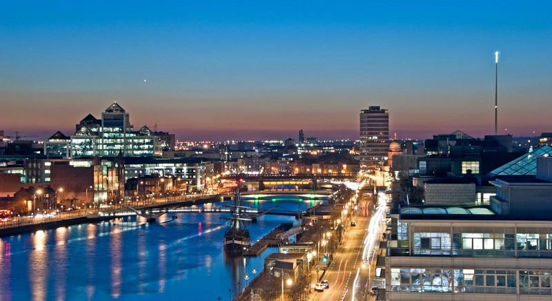 Dublin na Irlanda