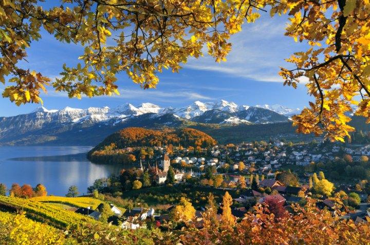 Outono na Suíça