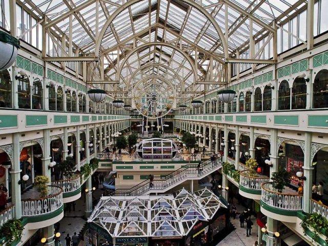 Shoppings em Dublin | Irlanda
