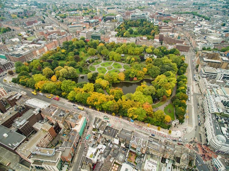 Parque St. Stephen's Green
