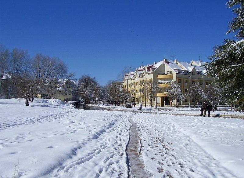 Inverno na Suíça