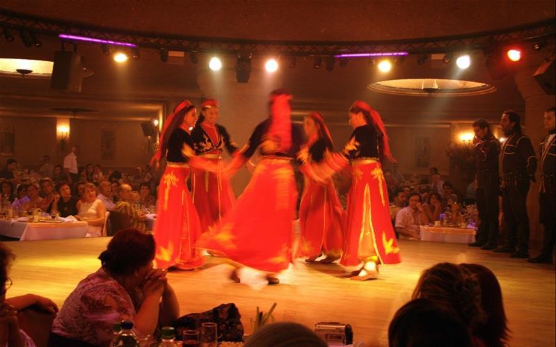 Turkish Night na Capadócia