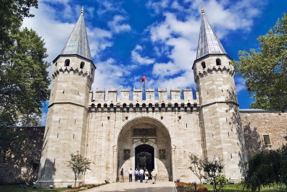 Entrada do Palácio Topkapi em Istambul