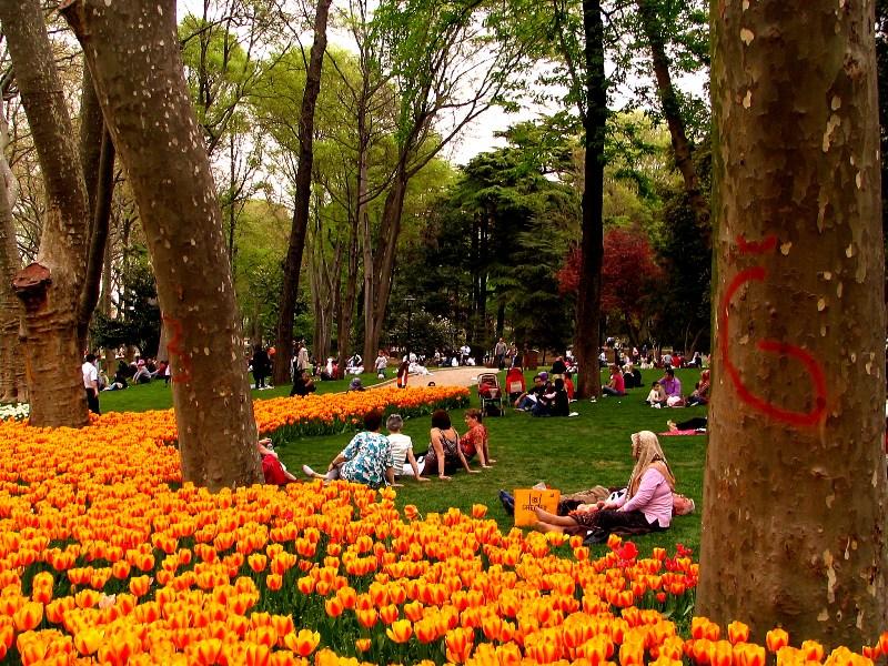 Informações do parque Gülhane em Istambul na Turquia