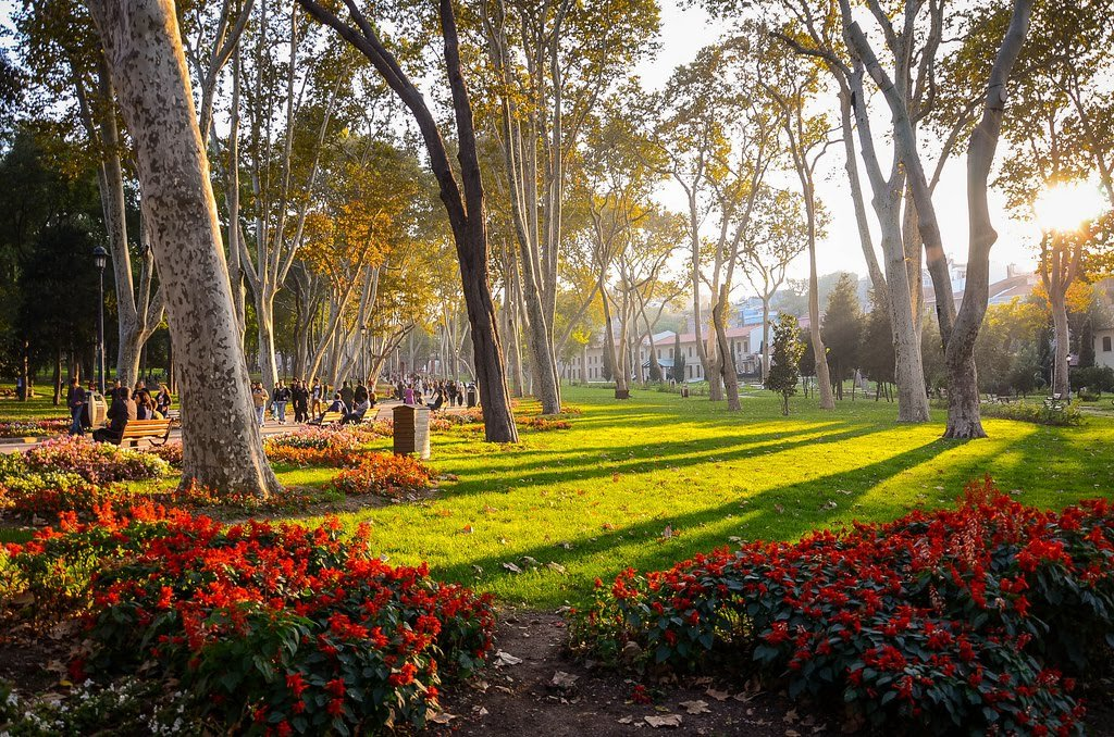 Parque Gülhane em Istambul