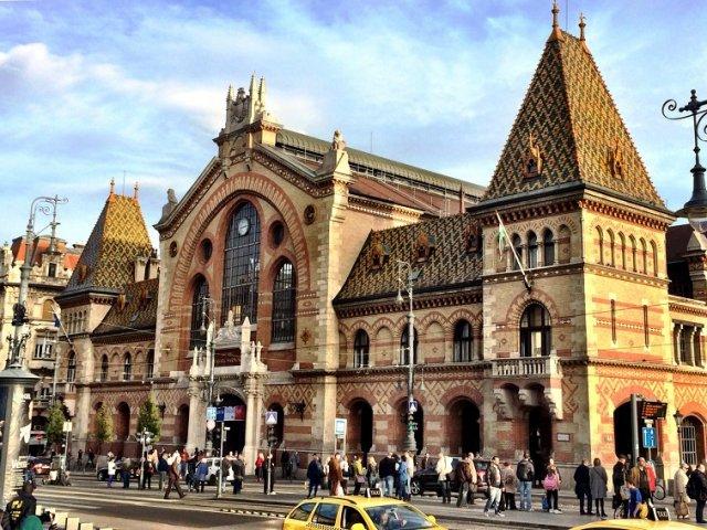 Mercado Central de Budapeste   Hungria