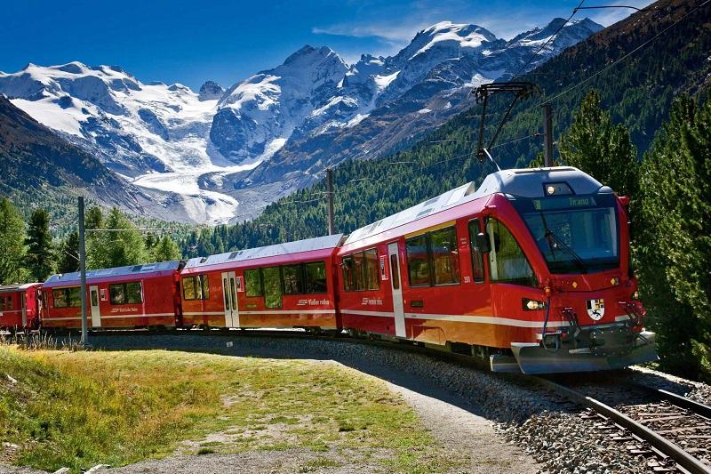 Trens na Suíça
