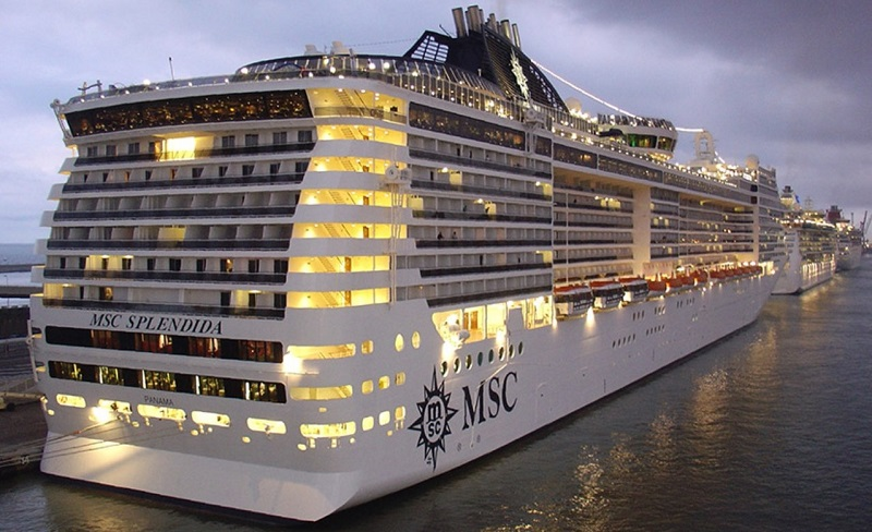 Navio MSC Splendida
